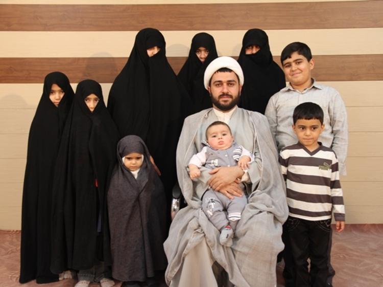 آشنایی با روحانی 37 ساله با 11 فرزند