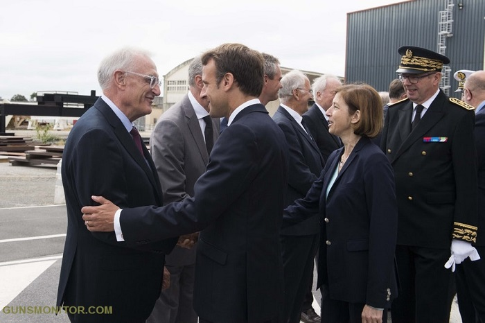 زیردریایی هسته ای جدید فرانسه(+تصاویر)