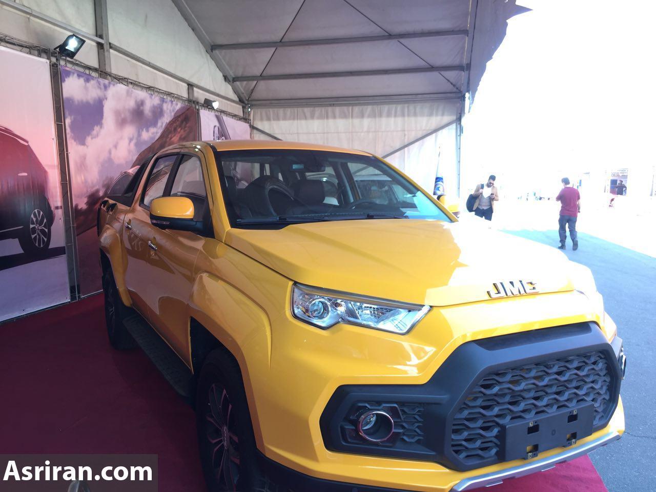 یک خودروی جدید در نمایشگاه فرصت های ساخت داخل و رونق تولیدبه نمایش درآمد (+عکس)