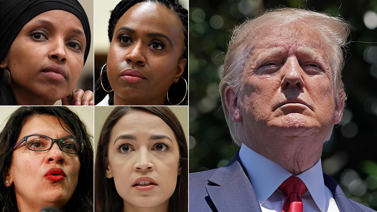ترامپ خواستار عذرخواهی نمایندگان زن کنگره از آمریکا شد