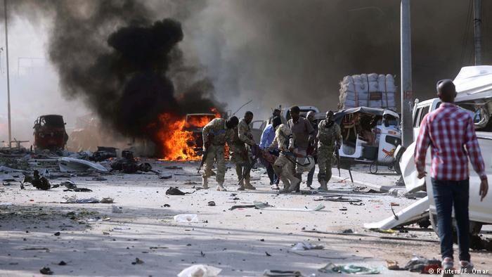 7 کشته و 27 زخمی در انفجار بمب در سومالی