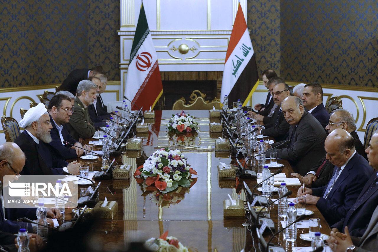 دیدار نخست وزیر عراق با رییس جمهور (عکس)