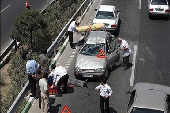 بیش از ۲۸ درصد تصادفات درون شهری خرداد ماه مربوط به عابران پیاده