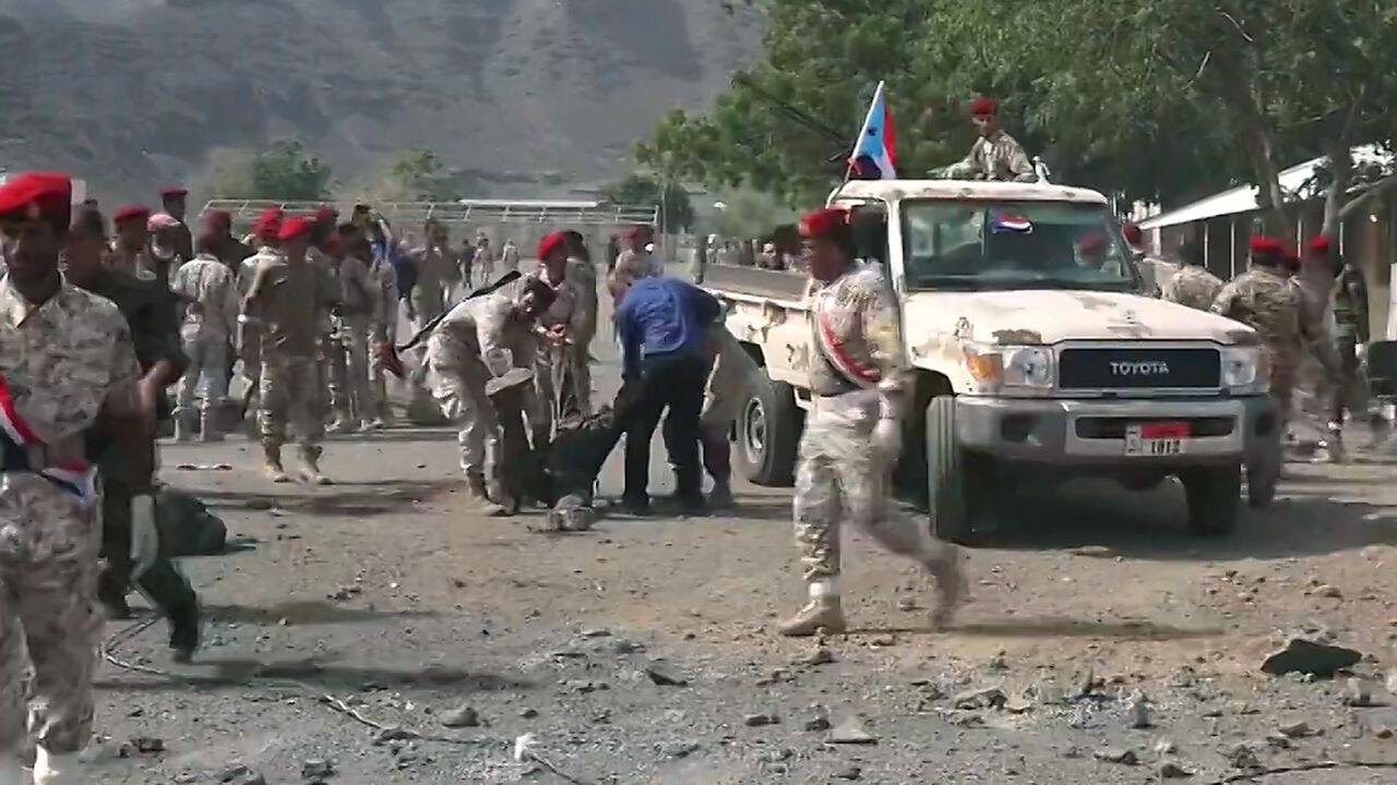 36 کشته در حمله به برگزاری مراسم یک رژه نظامی در یمن