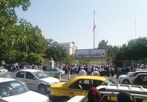 تجمع اعتراضی پرستاران در مشهد