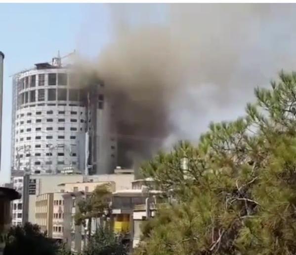 تخلیه کامل هتل آسمان شیراز/ خودداری شهروندان از تردد در خیابانهای اطراف
