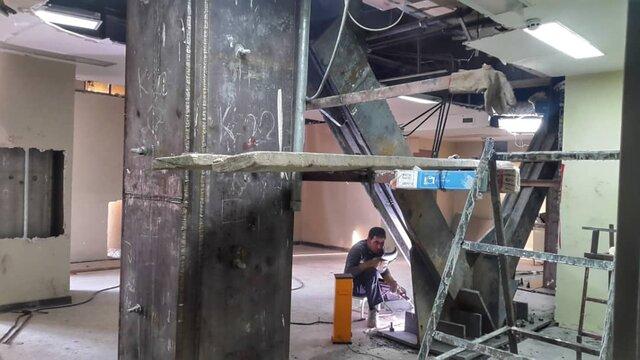 وضعیت 2 بیمارستان کرمانشاه؛ 2 سال پس از زلزله (+ عکس)