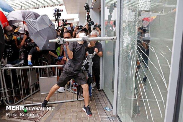 هشدار چین به آشوبگران در هنگکنگ؛ با آتش بازی کنید، نابود میشوید