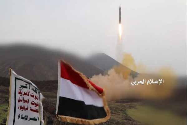 شلیک موشک بالستیک یمنیها به مواضع ارتش عربستان در نجران