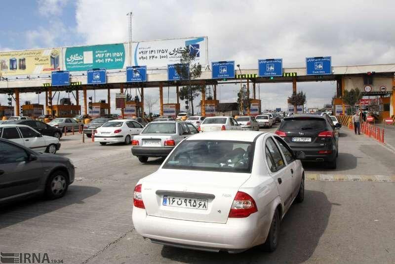 ترافیک نیمه سنگین در جادههای شمالی کشور