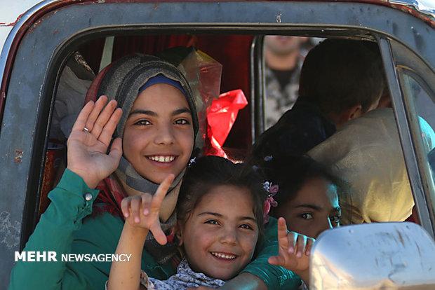 بازگشت حدود 2 هزار آواره سوری به کشور خود از اردن و لبنان
