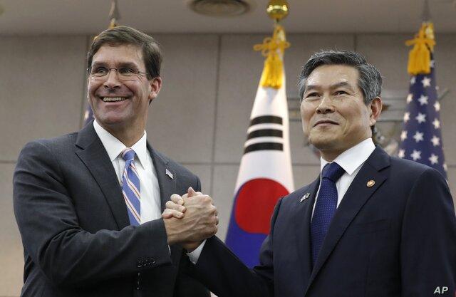 درخواست آمریکا از کره جنوبی برای ارسال ناو به ائتلاف دریایی در خلیج فارس