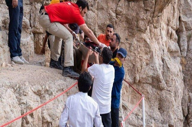 کوه صفهی اصفهان قربانی گرفت
