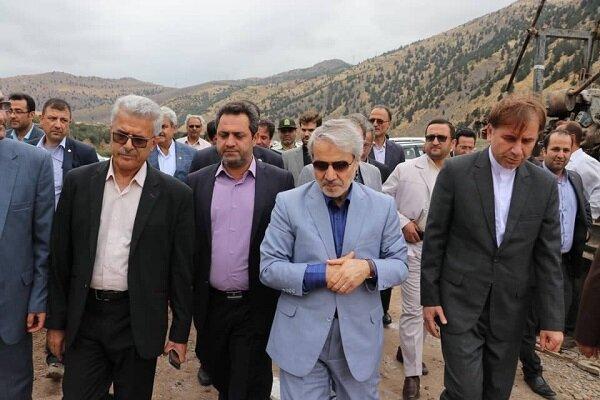 معاون رئیس جمهور: آزاد راه تهران - شمال طی ماههای آینده تکمیل می شود