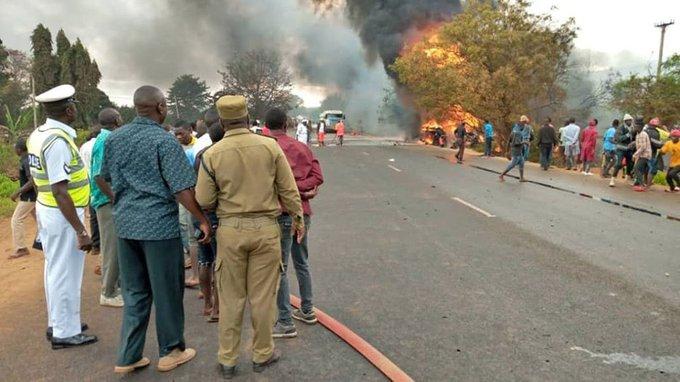 ۶۰ کشته در انفجار کامیون سوخت در تانزانیا