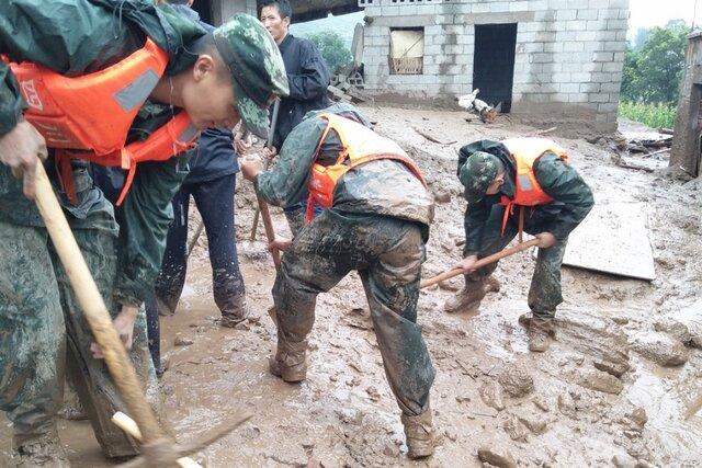 9 کشته در حادثه رانش زمین در چین