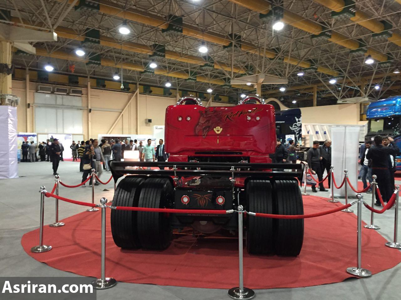 کامیون کروک که فقط یکبار در ایران به نمایش در آمد (+عکس)