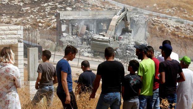 اتحادیه اروپا خطاب به اسرائیل: تخریب در نوار باختری را متوقف کنید