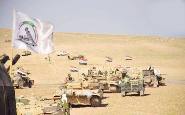 ناکام گذاشتن طرح داعش در دیالی عراق توسط حشد الشعبی