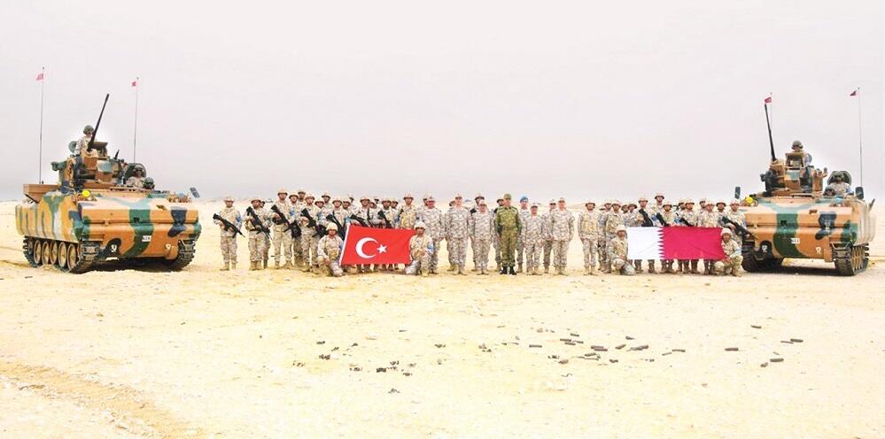 افزایش نیروهای نظامی ترکیه در خلیج فارس/ احداث دومین پایگاه نظامی ترکیه در قطر