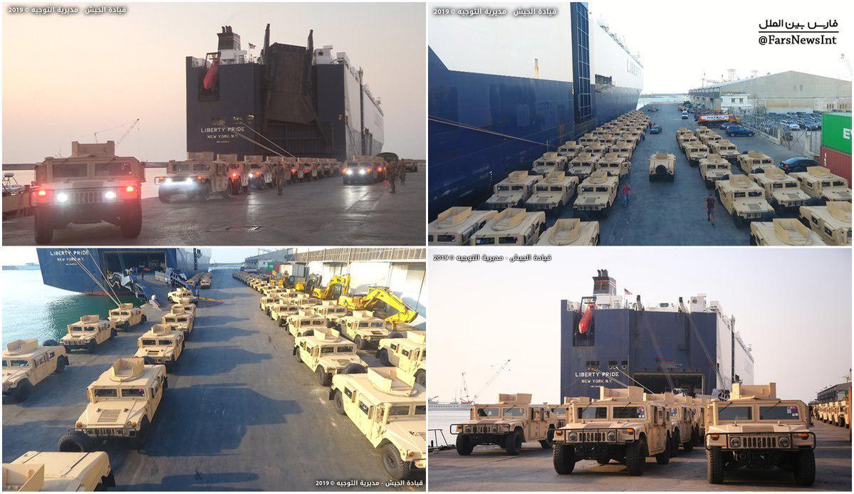 لبنان: دریافت 150 خودروی نظامی از آمریکا به عنوان هدیه