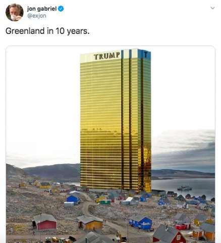 ترامپ به فکر خرید جزیره