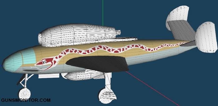 هنشل Hs 132، بمب افکن با خلبان خوابیده!(+تصاویر)