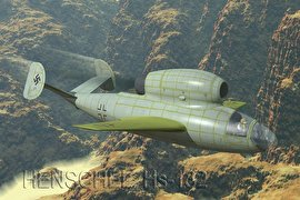 هنشل Hs 132، بمب افکن با صندلی متفاوت برای خلبان!(+تصاویر)