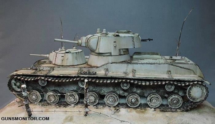 SMK؛ تانک روسی که فقط یک دستگاه از آن تولید شد!(+تصاویر)