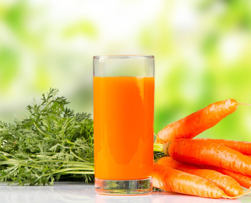 آب هویج منبع پتاسیم