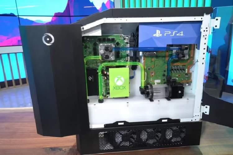 ساخت دستگاهی که همه کنسولهای بازی جهان را در خود دارد (+عکس)