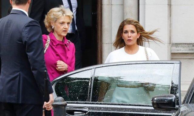 اولین دادگاهی همسر فراری حاکم دبی  در لندن (+ عکس)
