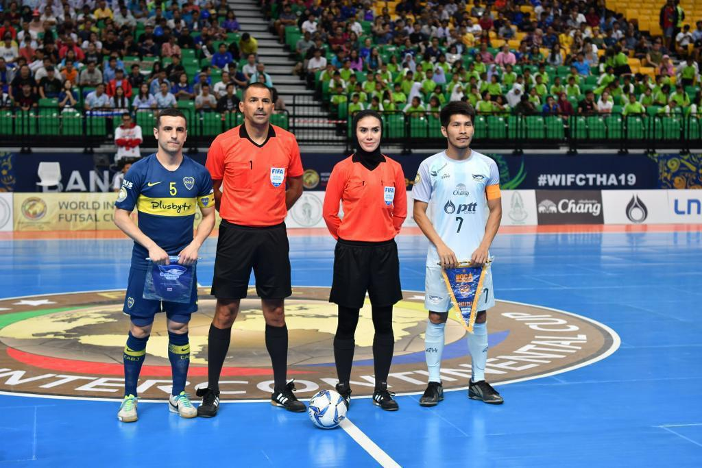 حضور داور زن ایرانی در فینال جام باشگاه های جهان