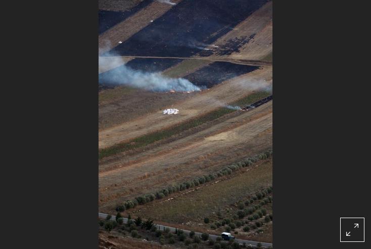 حمله حزب الله لبنان به یک خودروی ارتش اسراییل