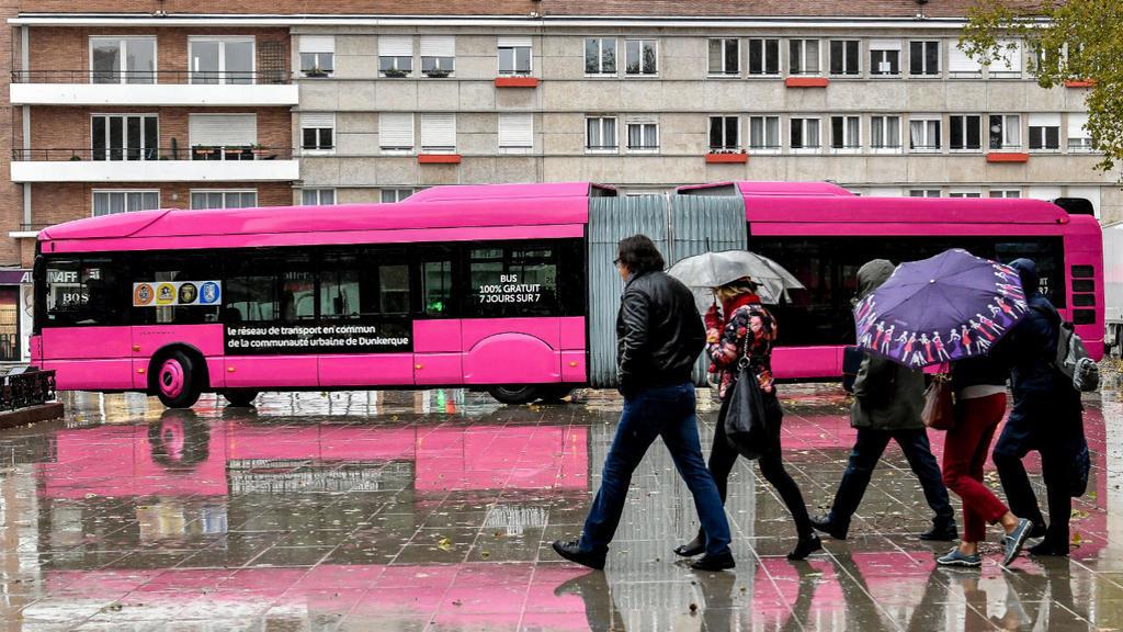 از دانکرک تا پاریس/ اتوبوسهای رایگان به قلب پایتخت فرانسه میرسد