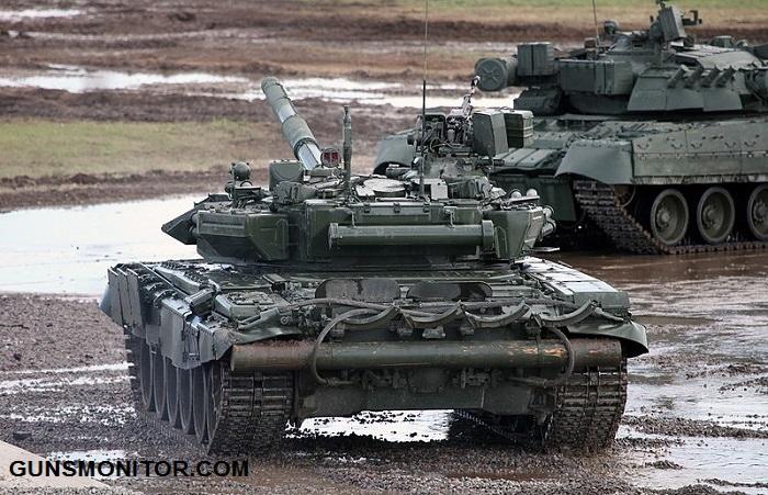 مقایسه دو تانک نیرومند آمریکایی و روسی(+تصاویر)