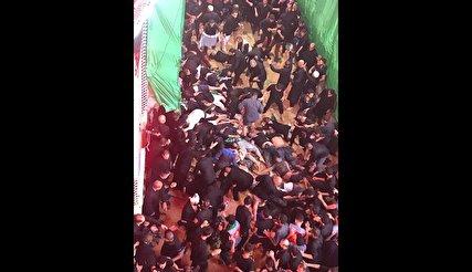 حادثه ازدحام جمعیت در حرم امام حسین در کربلا: 16 کشته و 75 مصدوم/آمار غیررسمی: ۳۵ کشته و بیش از  ۱۱۱ نفر مصدوم