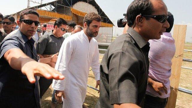 جلوگیری از حضور راهول گاندی، رهبر حزب کنگره هند در کشمیر