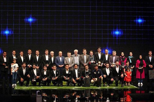 برترینهای فوتبال ایران معرفی شدند