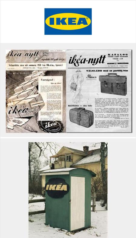اولین محصولات مشهورترین برندهای جهان (+عکس)