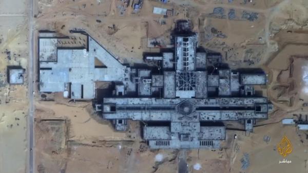مساحت کاخ جدید سیسی 10 برابر کاخ سفید است