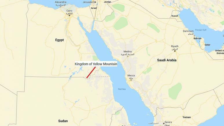 تولد کشوری جدید در جهان؛ «پادشاهی کوه زرد» در سرزمینی میان مصر و سودان
