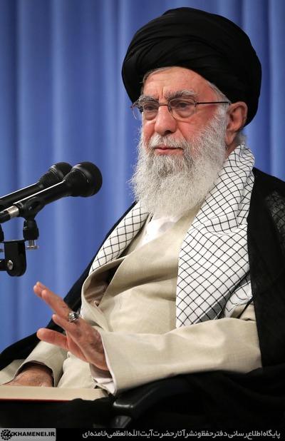 مقام معظم رهبری: همه مسئولان جمهوری اسلامی یکصدا معتقدند که با آمریکا در هیچ سطحی مذاکره نخواهد شد