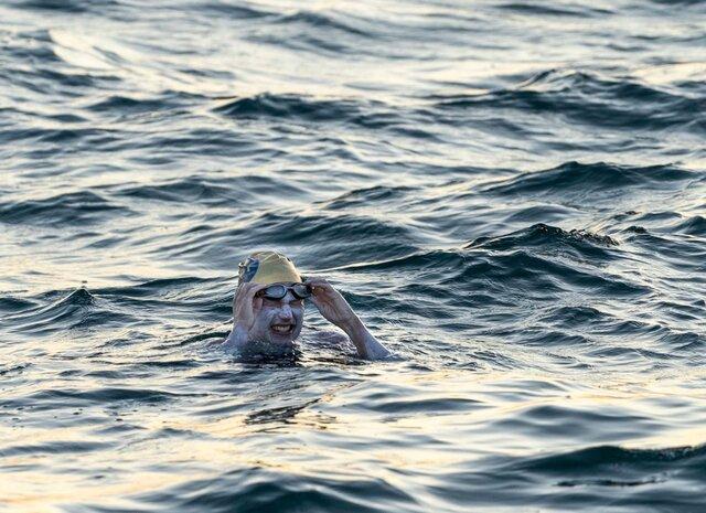 تاریخسازی شناگر آمریکایی در عبور از کانال مانش