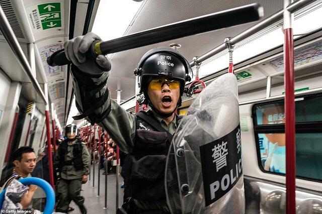 جنگ توئیتر و فیسبوک با کمپین ضد اعتراضات هنگکنگ