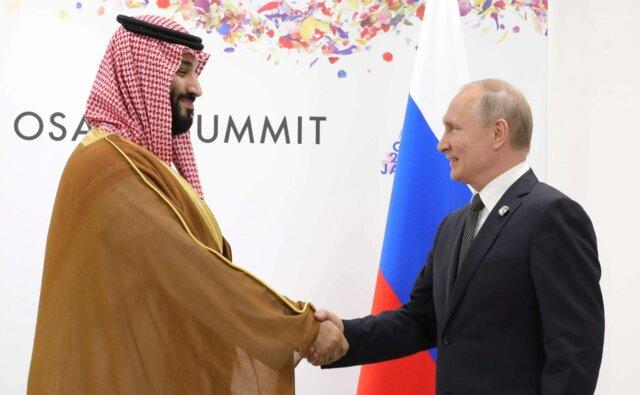 گفتوگوی پوتین و بن سلمان درباره حملات آرامکو