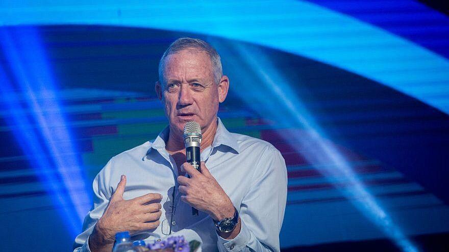 گانتس خطاب به نتانیاهو: باید بروی