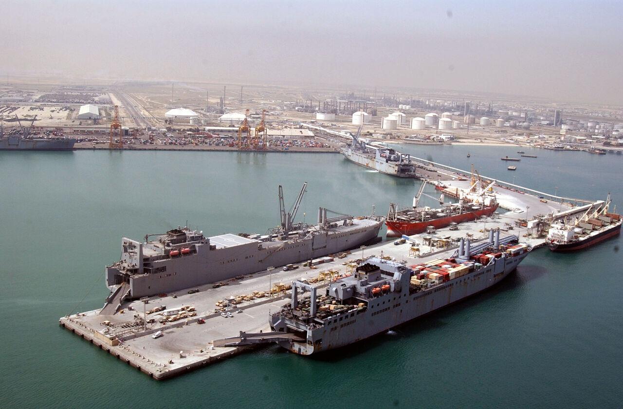 افزایش سطح آماده باش در بنادر نفتی و تجاری کویت