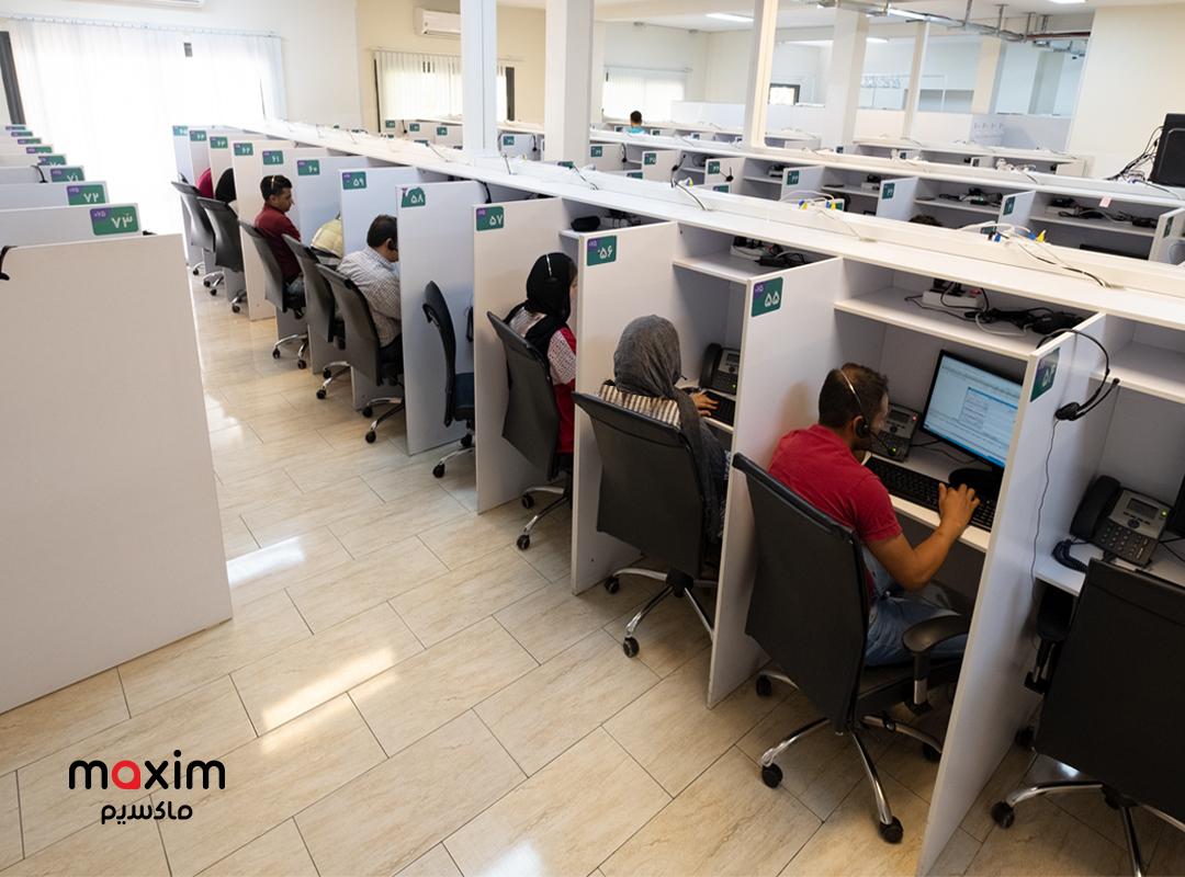 آغازبهکار بخش زبان ترکی و کردی در مرکز تماس ماکسیم