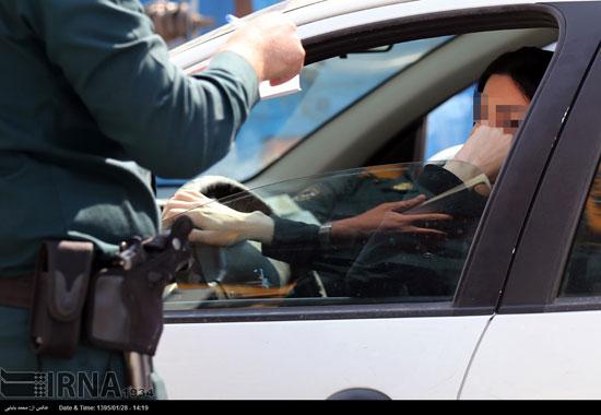 جریمه پیامکی برای بانوان راننده بد حجاب